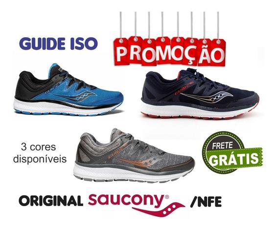 Tênis Saucony Original Guide Iso Masculino - 3 Cores Disp