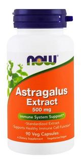 Astragalus Extract 500 Mg 90veg Now Foods Promoção Val 12/19