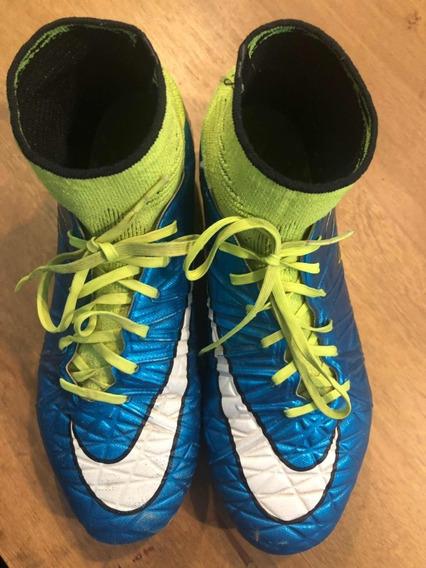 Botines Nike Hypervenom Talle Us 7 / 36.5