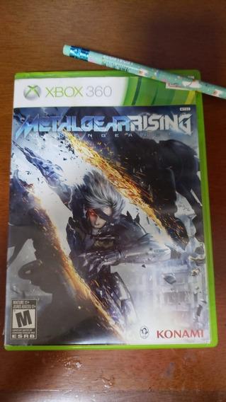 Game Xbox 360 Metal Gear Rising Revengeance - Original