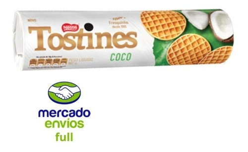 Biscoito Coco Tostines 160grs