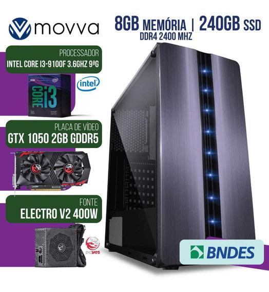 Computador Gamer Mvx3 Intel I3 9100f 3.6ghz 9ª Ger. Mem. 8g