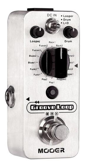 Pedal Mooer Micro Groove Loop Drum Machine Looper Pedal Mlp2