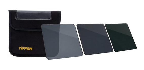 Kit De Filtros Tiffen 4x4 3 Filtros Nd.6 Nd.9 Nd1.2 #