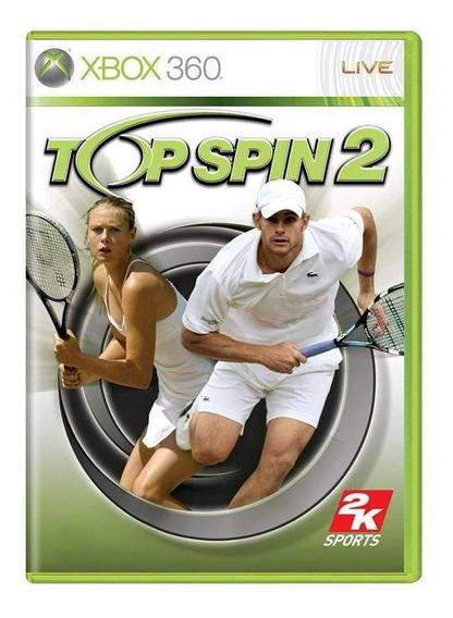 Top Spin 2 Xbox 360 Mídia Física Pronta Entrega