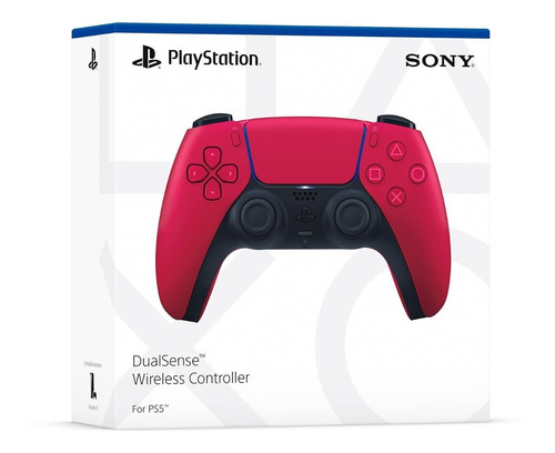 Mando Playstation 5 Dualsense Ps5 Cosmic Red