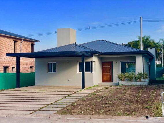 Casa Country Divisadero, 2 O 3 Dorm. Completa! De Una Planta
