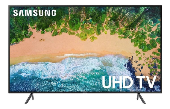 "Smart TV Samsung 4K 43"" UN43NU7100GXZD"