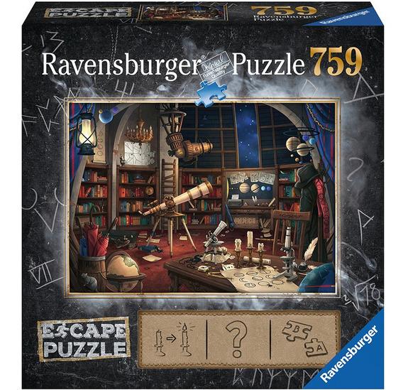 Rompecabezas Escape Puzzle El Observatorio