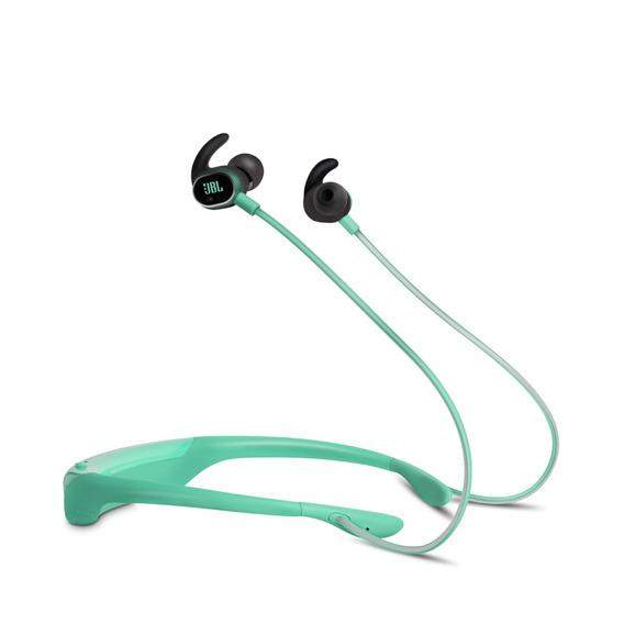 Jbl Fone De Ouvido Reflect Response Teal Earphones Bluetooth
