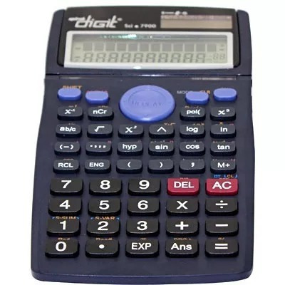 Calculadora Científica . Sci7900 Spiral Digit