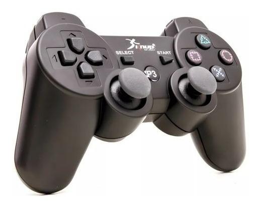 Controle Game Ps3 Sem Fio Bluetooth Dualshock Vibração Knup
