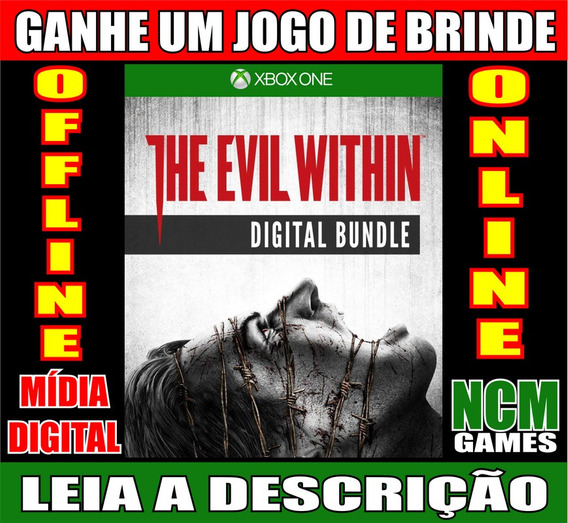 The Evil Within Digital Bundle Xbox One + Brinde