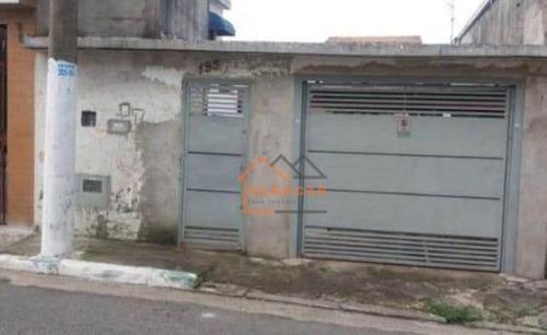 Terreno À Venda, 173 M² Por R$ 330.000,00 - Jardim Vila Formosa - São Paulo/sp - Te0019