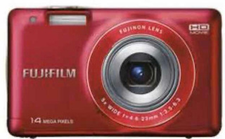 Cámara Fotográfica Fujifil Jx500 Roja