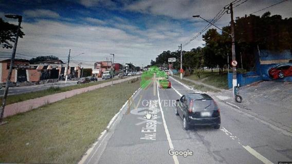 Ótimo Terreno De 3.000m2 Na Av.eliseu De Almeida, A 500mts.da Estação De Metrô Morumbii - Te0012