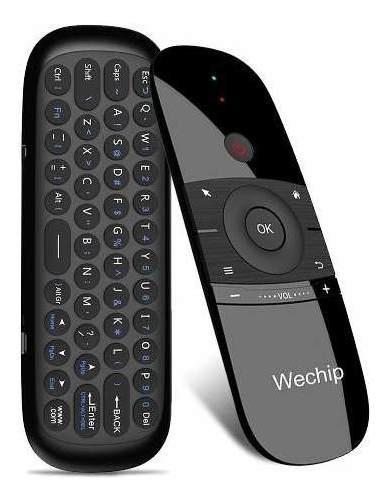 Wechip W1 2.4g Air Mouse Teclado Sem Fio Controle Remoto