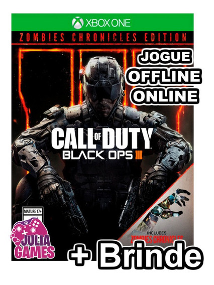 Call Of Duty Black Ops 3 Zombies Chronicles Xbox One + Brind