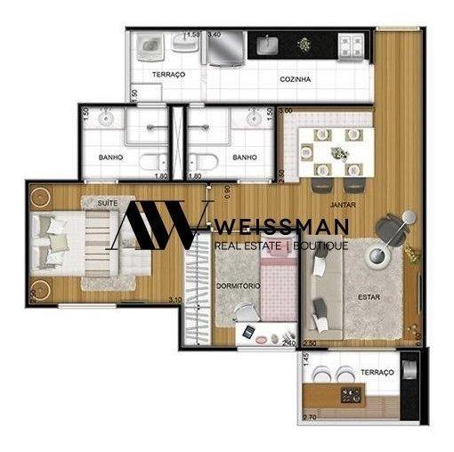 Apartamento - Cidade Ademar - Ref: 4062 - V-4062