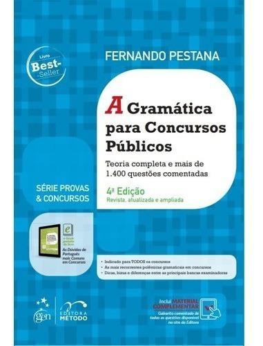 Gramática Para Concursos Públicos - 4ªed - 2020 - Pestana