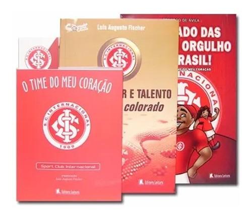 Kit 3 Livros S C Internacional C/ Marcador De Pagina