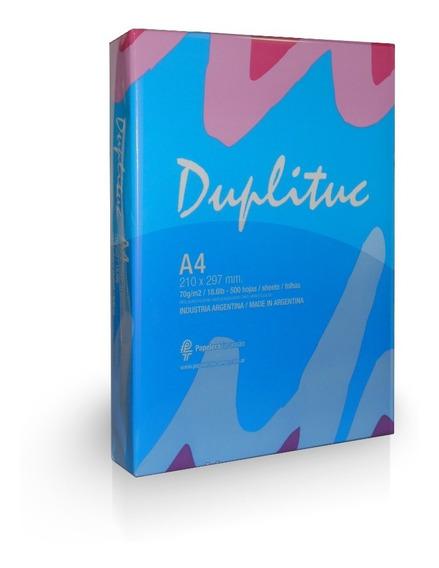Duplituc - Resma A4 70grs (x15) | Consultar Envío Zona Sur