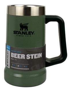 Caneca Térmica Stanley De Cerveja Verde 709ml 7h Frio