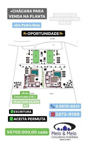 Chácara Para Venda Em Pedra Bela, - - 1813_2-1060266