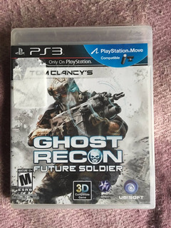 Se Vende Juego Ps3 Ghost Recon Future Soldier