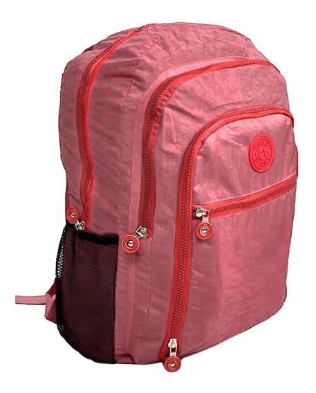 Mochila Fem Fashion Bag Style Em Crinkle Varias Cores Rf:194