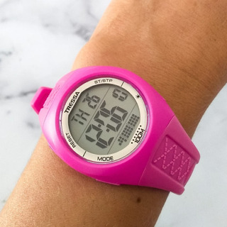 Reloj Tressa Pool Digital Sumergible Dama Braine Joyas
