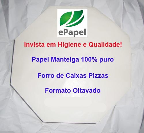 Combo Papel Manteiga : 800 Pizza N.35 + 800 Pizza N.30