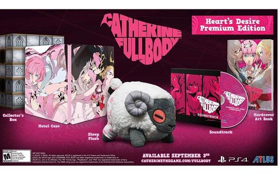 Catherine Full Body Hearts Desire Premium Edition Ps4 Novo