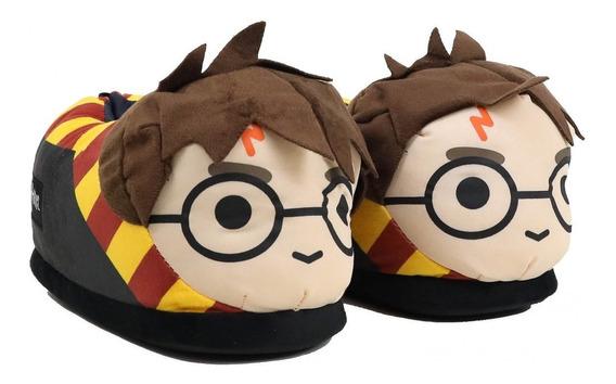Pantufa Ricsen Harry Potter Marrom Harry Potter1