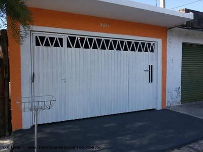 Casa Para Venda Em São Carlos, Cidade Aracy, 2 Dormitórios, 1 Suíte, 2 Banheiros, 2 Vagas - Alc1