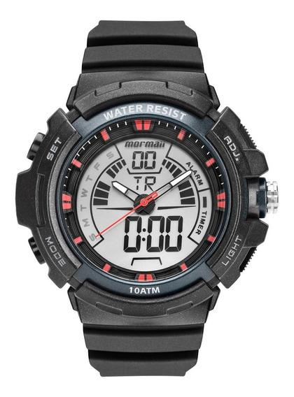 Relógio Masculino Mormaii Wave Mo8902aa/8r 44mm Preto