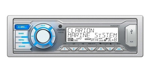 Reproductor Clarion  Usb Aux/in Atv Polaris Marino