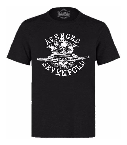 Camisa Avenged Sevenfold Rock In Rio