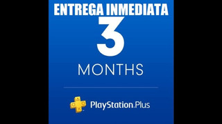 Ps Plus 3 Meses Entrega Inmediata