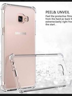 Funda Transparente Con Esquina Reforzada Samsung A