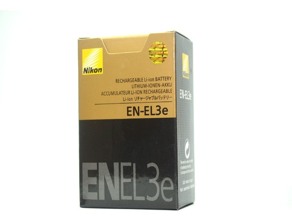 Bateria En-el3e P/ Nikon D50 D70 D80 D90 D100 D200 D300 D300