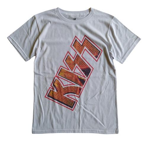 Imagen 1 de 4 de T Shirt Tee King Kiss Bandas De Rock Playera Hombre