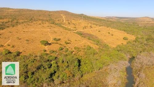 Venda Chácaras De 25.000 Mts²  Próximo Rio Pianco Município De Abadiânia - 5391