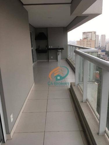 Apartamento Com 3 Dormitórios À Venda, 127 M² Por R$ 1.260.000 - Tatuapé - São Paulo/sp - Ap3738