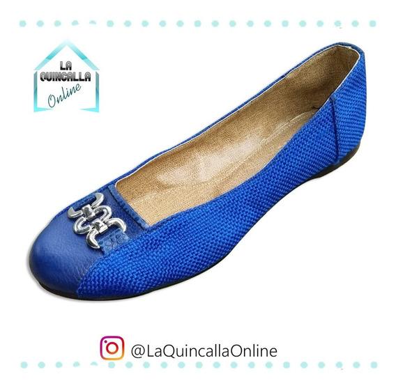 Zapatillas O Toreritas Para Dama 100% Cuero (producto Nuevo)