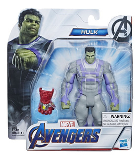 Hulk Endgame Avengers 15 Cm + Accesorio Original Hasbro