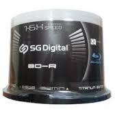 Discos Blue Ray 25gb 1-6x Speed Full Hd 1080 Sg Digital 50ud