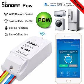 Sonoff Pow Interruptor Inteligente Wi-fi Medidor De Energia