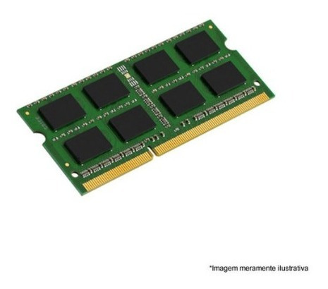 Memória Kingston Para Notebook 4 Gb Ddr3 1600mhz - Kvr16s11s