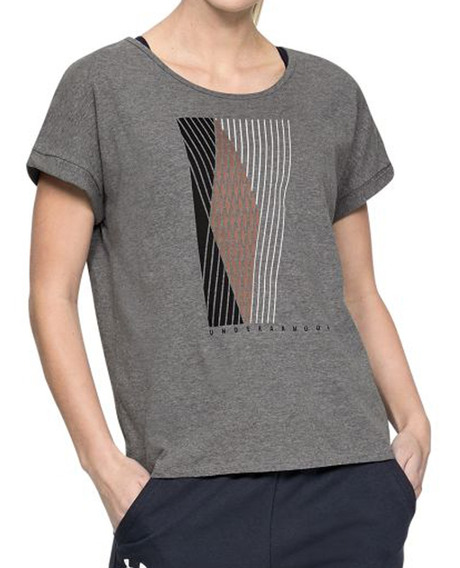 Remera Under Armour Training Graphic Entwined Mujer Go